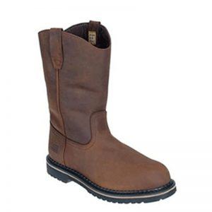 McRae Boots MR85344 Men's Steel Toe Ruff Rider Wellington Boots