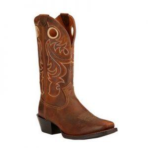 7365 Ariat Sport Sq Toe Western Boots