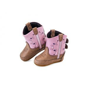 10101 Old West Infant Heart Poppet Boot 0-4