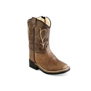 1013 Old West Sq Toe Toddler Boots