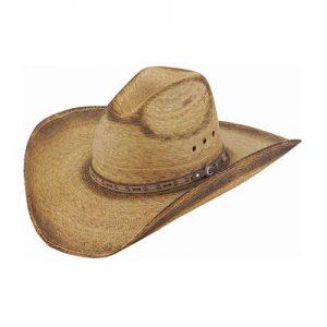 1918 Justin Trail Palm Leaf Hat