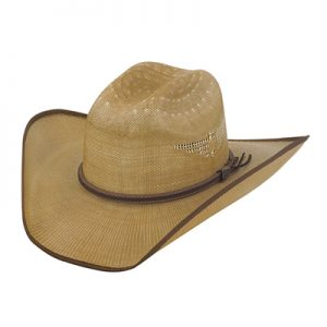 5256 Justin Bent Rail Fenix Straw Hat