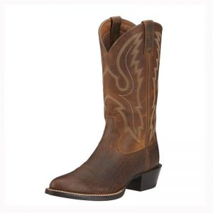 6366 MN Ariat Sport R Toe Western Boots