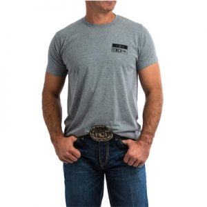 0307 Cinch Classic Crew Neck S/S Shirt