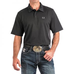 3005 Men's Cinch ArenaFlex Solid Polo
