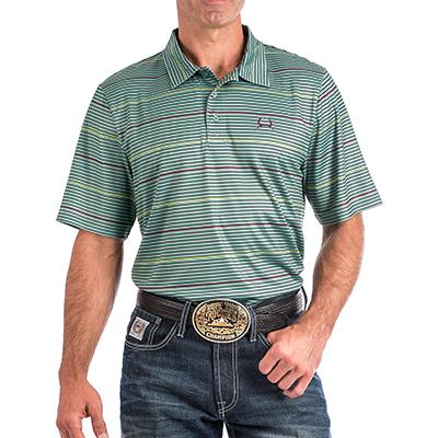 f17bcfc5 5004 Men's Cinch ArenaFlex Striped S/S Polo – El Rodeo Western Wear