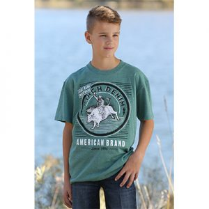 0068 Boy's Cinch Emerald Classic Tee