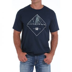 0344 Men's Classic Cinch S/S Logo Tee