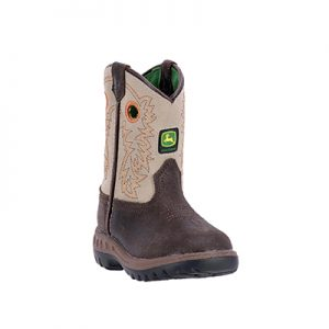 1417 John Deere Johnny Popper Infant Boots