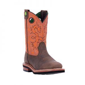 JD2319 Boy's John Deere Western Sq Boots