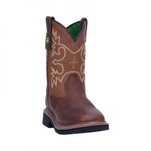 JD2342 Children's John Deere Sq Boots