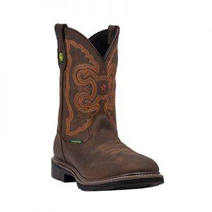 JD4726 Men's John Deere Waterproof Sq Boots