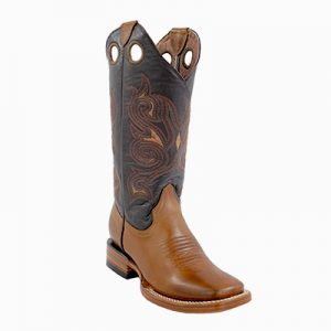 463-35 LD White Diamond Wide Sq Boots