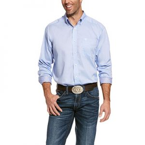 8101 Men's Ariat Wrinkle Free Solid Classic Fit Shirt