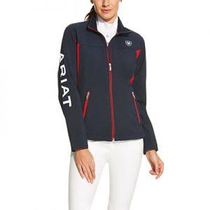 9208 Ariat Ladies New Team Softshell Jacket