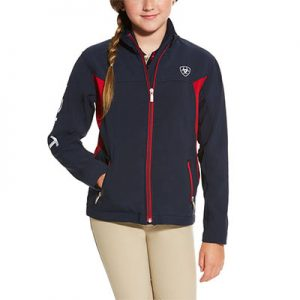 9268 Ariat Kid's New Team Softshell Jacket