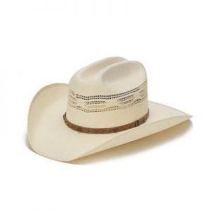 1823 Stampede Bangora Traditional Straw Western Hat