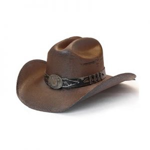 1852 Stampede Collection Studded Stallion Cowboy Hat