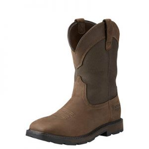 5196 Ariat Groundbreaker Wide Sq Steel Toe Work Boot