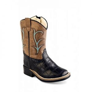VB1012 Toddlers Old West Broad Sq Boots