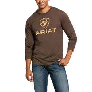 Ariat Men's Liberty USA L/S T-Shirt