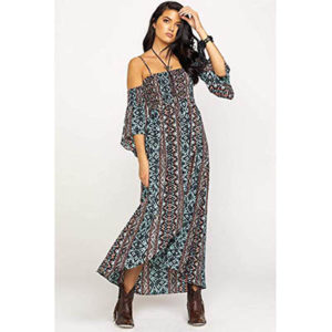 5701 Ariat Women's Bandana Top Down Dress