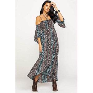 5701 Ariat Women's Bandana Top Down Dress