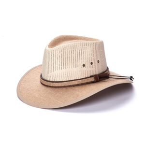 2060 CHC Premium Stampede Hat-Straw/Canvas