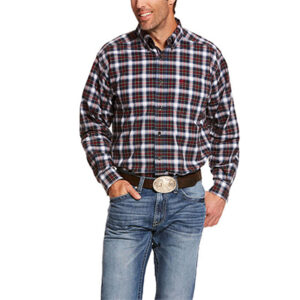 8910 Men's Ariat Pro Series L/S Plaid Shirt