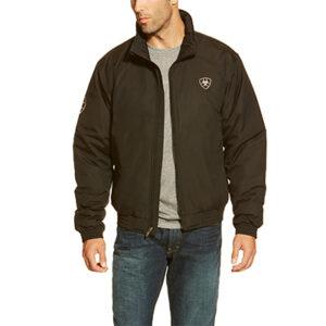 9945 Ariat Men's Black Team Logo Jacket