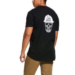 0299 Men's Ariat Rebar Strong Roughneck Graphic T-Shirt