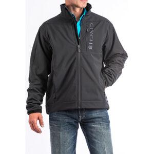 9000 Men's Cinch Black Bonded Jacket