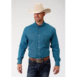 0732 Men's Roper Double Diamond Gio Shirt
