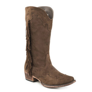 2111 Ladies Roper Fashion Faux Brianna Boots