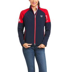 2211 Ladies Ariat Global Softshell Jacket