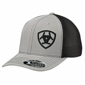 7706 Ariat Men's  Logo Snapback Cap