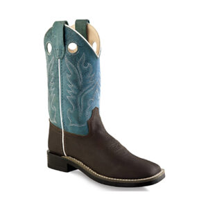 BSC1884 Old West Boys' Ultra Flex Western Boots