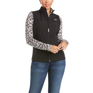 0762 Ariat Ladies New Team Softshell Vest