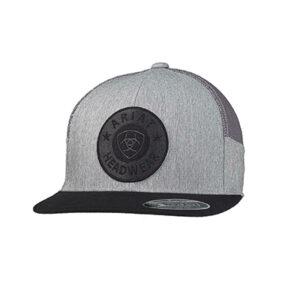 14606 Ariat Men's Logo Patch Snap Back Cap