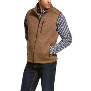0630 Ariat Men's Caldwell Full Zip Vest