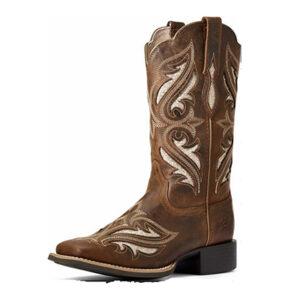 4056 Ariat Ladies Roundup Glitter Cowboy Boots