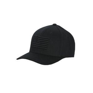 7765 Cinch American Flag Black Flexfit Baseball Cap