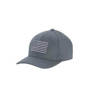 7767 Cinch Grey Flag Flexfit Baseball Cap
