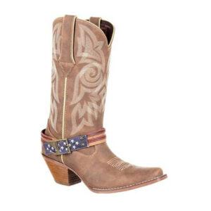 0208 Durango Women's Crush Flag Western Boot