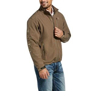 2931 Ariat Men's Logo 2.0 Morel/Camo Softshell Jacket