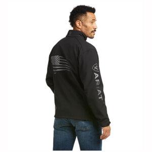 7439 Ariat Men's Logo 2.0 Patriot Softshell Carry Conceal Jacket
